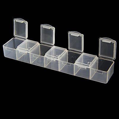 Medizin einmal pro Woche die Pille7 Tag Tablet Sorter Box Container Veranstalter