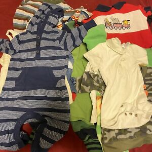 3 6 Month Baby Boy Mixed Clothing Lot Of 16 428839118558 Ebay
