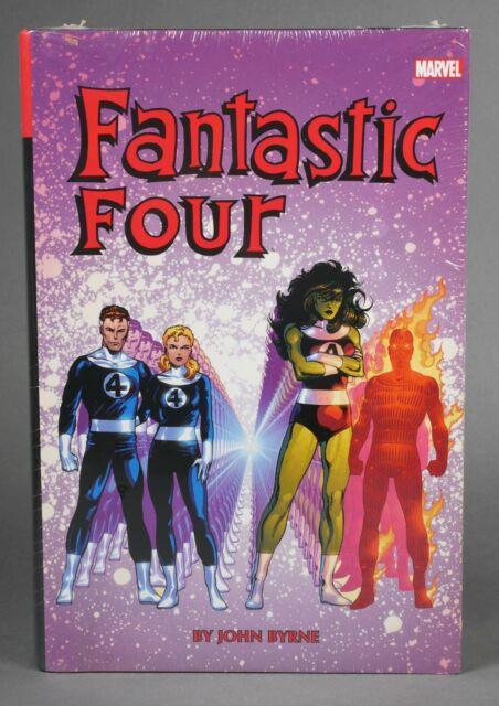 Fantastic 4 Four Marvel Omnibus Volume Vol. 2 John Byrne