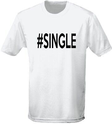 Acquista A Buon Mercato #single Humour T-shirt Da Uomo 10 Colori (s-3xl) Da Swagwear-
