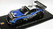 Spark 1/43 SB102 BMW Z4 PAM Ecurie Ecosse 24H Spa 2014  #279 of 300 made