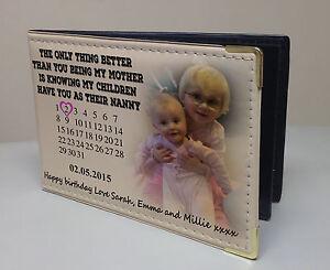 Personalizzata PHOTO ALBUM, MEMORY BOOK, COMPLEANNO O REGALO di Natale mamma nonna  </span>