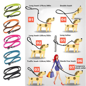Truelove-Reflective-Dog-Lead-Rope-Clip-Leash-7-in-1-Multi-Functional-Adjustable