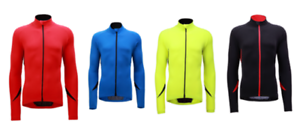 Jaggad-Unisex-Cycling-Bike-Long-Sleeve-Jersey-RED-BLUE-BLACK-LIME-250-S-to-3XL