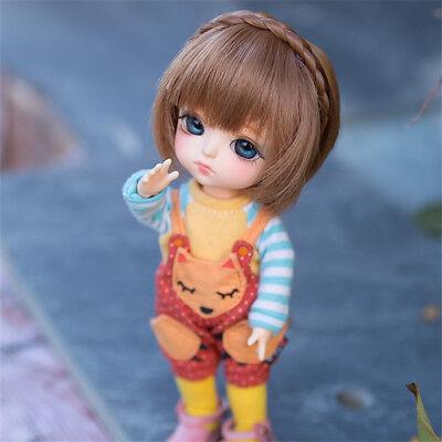 "New 1//8 Girl BJD SD Doll Wig Dollfie 5/"" DZ DOD LUTS Bjd Doll Wig MS-DOLL"