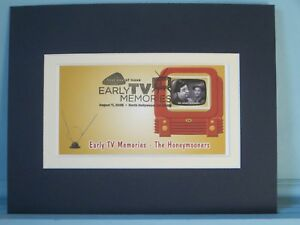 Jackie-Gleason-amp-Art-Carney-034-The-Honeymooners-034-amp-First-Day-Cover-of-its-stamp