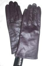 Fownes Genuine Leather Purple  Gloves, Large, Style 7681