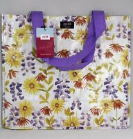 Gigi Hill 'spring Into Fun' Flowerd Grocery Tote Reusable Designer Bag