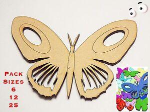 Belle Divers Taille Packs & Tailles 5 Cm à 10 Cm Papillon Embellissements 3 Mm Mdf #01-afficher Le Titre D'origine Acheter Un Donner Un