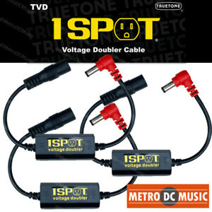 Details about 3-Pack Truetone TVD Pedal-Voltage-Doubler Cable 1-Spot 18V  24V No Switch Noise