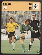WOLFGANG OVERATH Australia vs West Germany Soccer 1978 SPORTSCASTER CARD 23-22