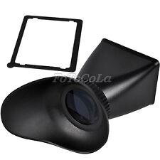 "2.8X 3.0"" LCD viewfinder extender f Nikon D700 D800 Canon 5DII 7D 500D T1i V1"