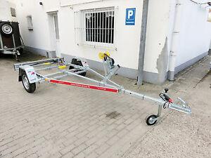 Bootstrailer-Bootsanhaenger-Boot-Trailer-PKW-Anhaenger-500kg-fuer-Boote-3-5m-NEU
