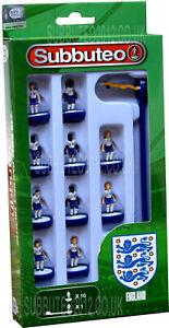 England NUOVO KIT Subbuteo squadra calcio in gioco di figure miniature toy
