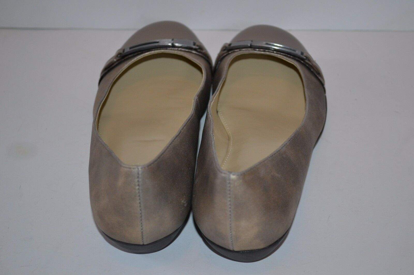 Naturalizer Helina (Women's) Size 8M BALLET FLATS FLATS FLATS SHOES PEWTER LOAFERS NEW bbeef0
