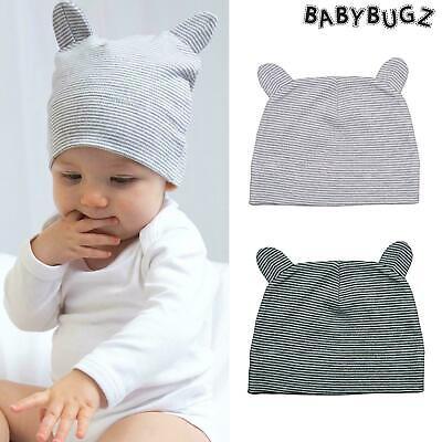 Babybugz Little Hat With Ears 100/% organic Cotton Fancy Dress Bay Hat