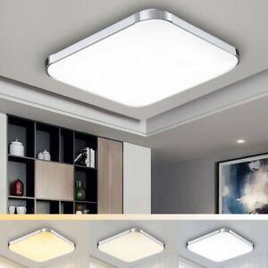Plafonnier Led 12w Lampe De Salon Luminaire Salle Bain Ip44
