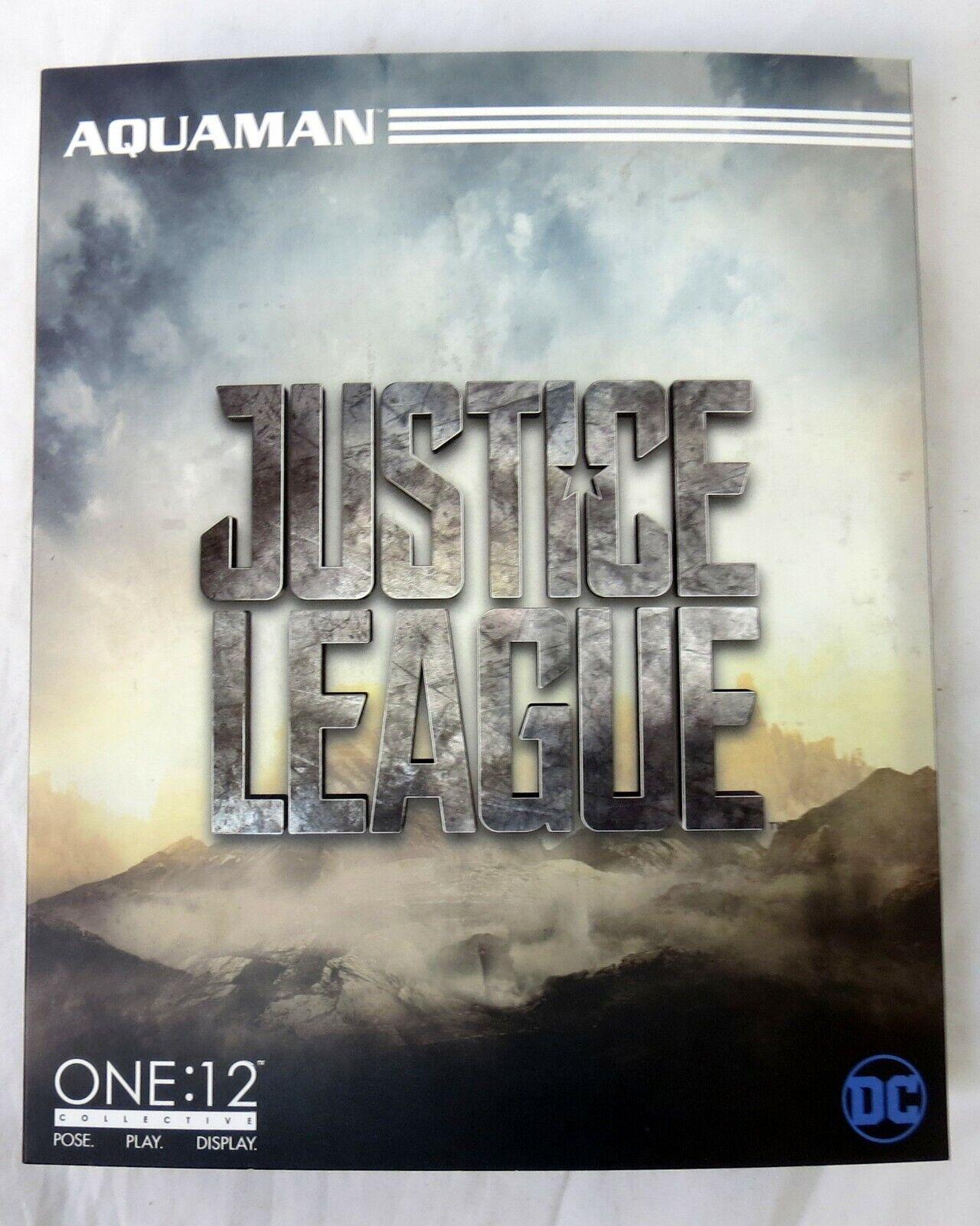 Mezco One 12 DC Justice League Aquauomo 6  cifra  nuovo  vendita di offerte