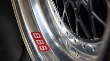 BBS RM RS LM Wheels felgen Decal Sticker Set of  4 BMW E24 E30 M3