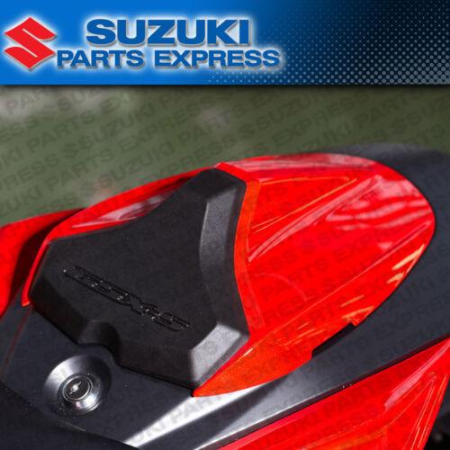 NEW 2018 SUZUKI GSXS GSX-S 750 OEM RED REAR PASSENGER SEAT COWL 45500-13810-YVZ