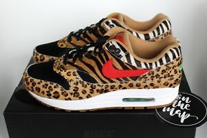 more photos 891b8 559c1 Nike Air Max 1 Atmos DLX Beast Safari Animal Pack 2018 UK 5 6 7 8 9 ...
