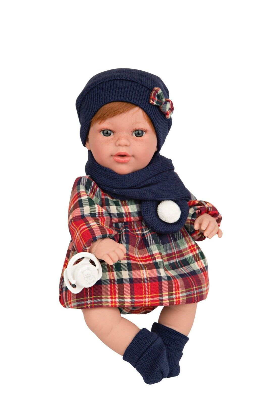 Spanish Crying & Talking Newborn baby dolls With Accessories