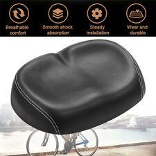 Big Ass Bike Bicycle Seat Saddle Wide Parts Large Big Exercise Soft Comfortable