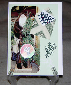 Origami-Folded-Dollar-Envelope-Handcrafted-Christmas-Card-for-Bowlers