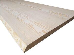 Piano Tavolo in Legno Massello Yellow Pine spessore 5,5 cm Varie ...