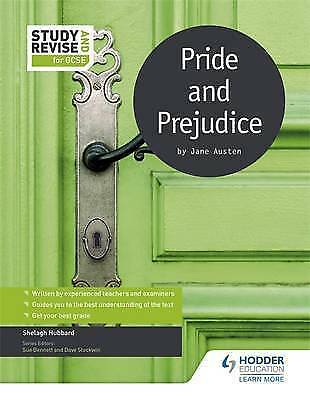 Study and Revise for GCSE: Pride and Prejudice by Hubbard, Shelagh (Paperback bo
