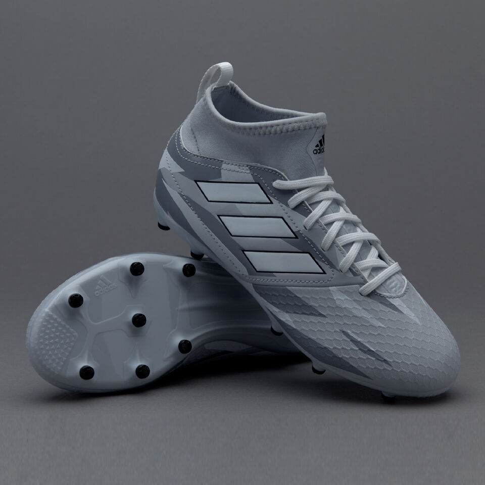 ADIDAS ACE 17.3 FG J scarpe da calcio bambino grigio mimetico Pogba