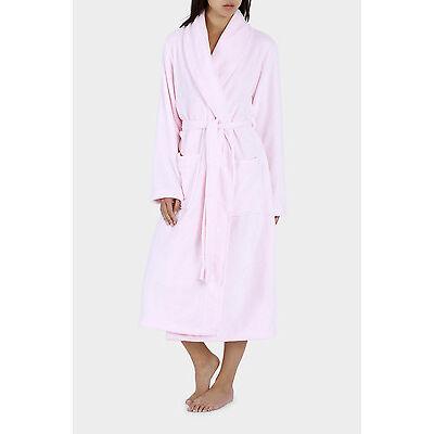 NEW Soho 'Basics' Sherpa Robe SSOW17003 Lt Pink