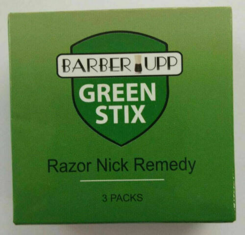 Styptic Stick Razor Nick Remedy Barber Upp Green Stix Fastest Delivery