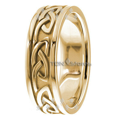 Irish Wedding Rings.18k Solid Gold Celtic Wedding Bands Celtic Wedding Ring Womens Mens Irish Rings Ebay