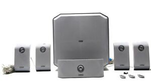 image is loading 6-piece-philips-home-theater-speaker-system-with-