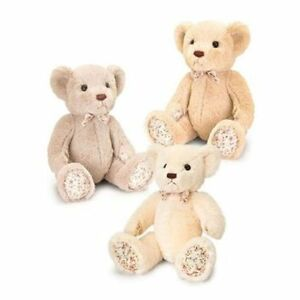 KEEL TOYS BELLE ROSE BEARS 18CM SOFT CUDDLY PLUSH TEDDY BNWT