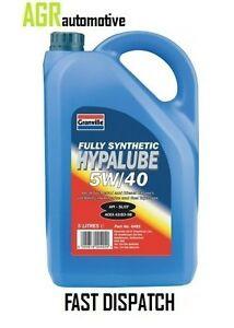 Granville-Hypalube-5w40-Oil-Fully-Synthetic-5-L-Ltr-Litre-x-1-QTY