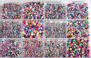 120pcs-Wholesale-Lots-Mixed-body-Piercing-Jewelry-Tragus-Labret-Bar-Lip-Rings