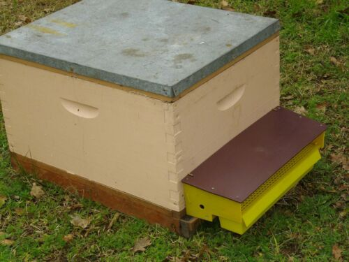 Aus sellerNEW easy plastic bee hive pollen trap collectorsimple removable tray