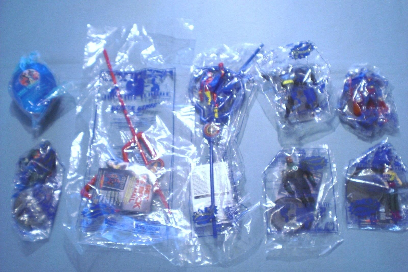 Subway 2002 - Justice League - Complete Set of 8 MIP