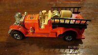 Hot Wheels Vintage Old Number 5 Fire Truck Mint