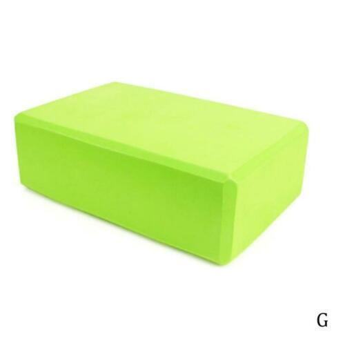 Yoga Block Foam Brick Stretching Aid Pilates For Exercise Fitness