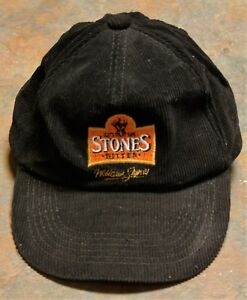 034-STONES-BITTER-034-CORDUROY-BASEBALL-CAP-GOOD-CONDITION