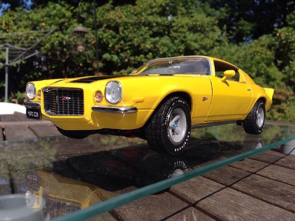Franklin Nuovo di zecca 1:18 Camaro Z28 1970 Classic Muscle Nuovo di zecca con scatola