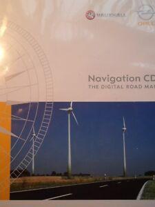 OPEL-Navigation-CD-70-Daenemark-Skandinavien-Norwegen-Finnland-2014-OPEL-CD-70