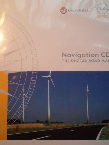 OPEL NAVIGATION CD 70 Danemark Suède Norvège Finlande 2015 Opel CD 70