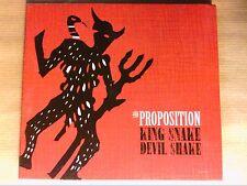 CD / THE PROPOSITION / KING SNAKE DEVIL SHAKE / NEUF SOUS CELLO
