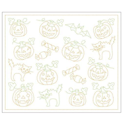 Japonais broderie Sashiko Kit Hana fukin Thread Halloween Party hobbyra