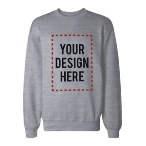 Custom-Print-Sweatshirt-Personalized-Grey-Sweat-Shirt-Photo-Print