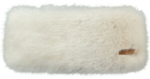 2020-NEW-ADULT-BARTS-FAUX-FUR-DELUXE-FLEECE-LINED-HEADBAND-WHITE